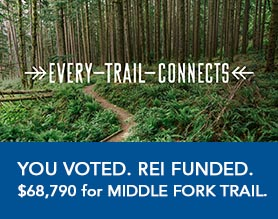 Every Trail Connects REI Campaign 2015 - Mountains To Sound Greenway