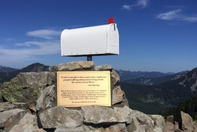 Ira Spring's Words Resonate on Mailbox Peak