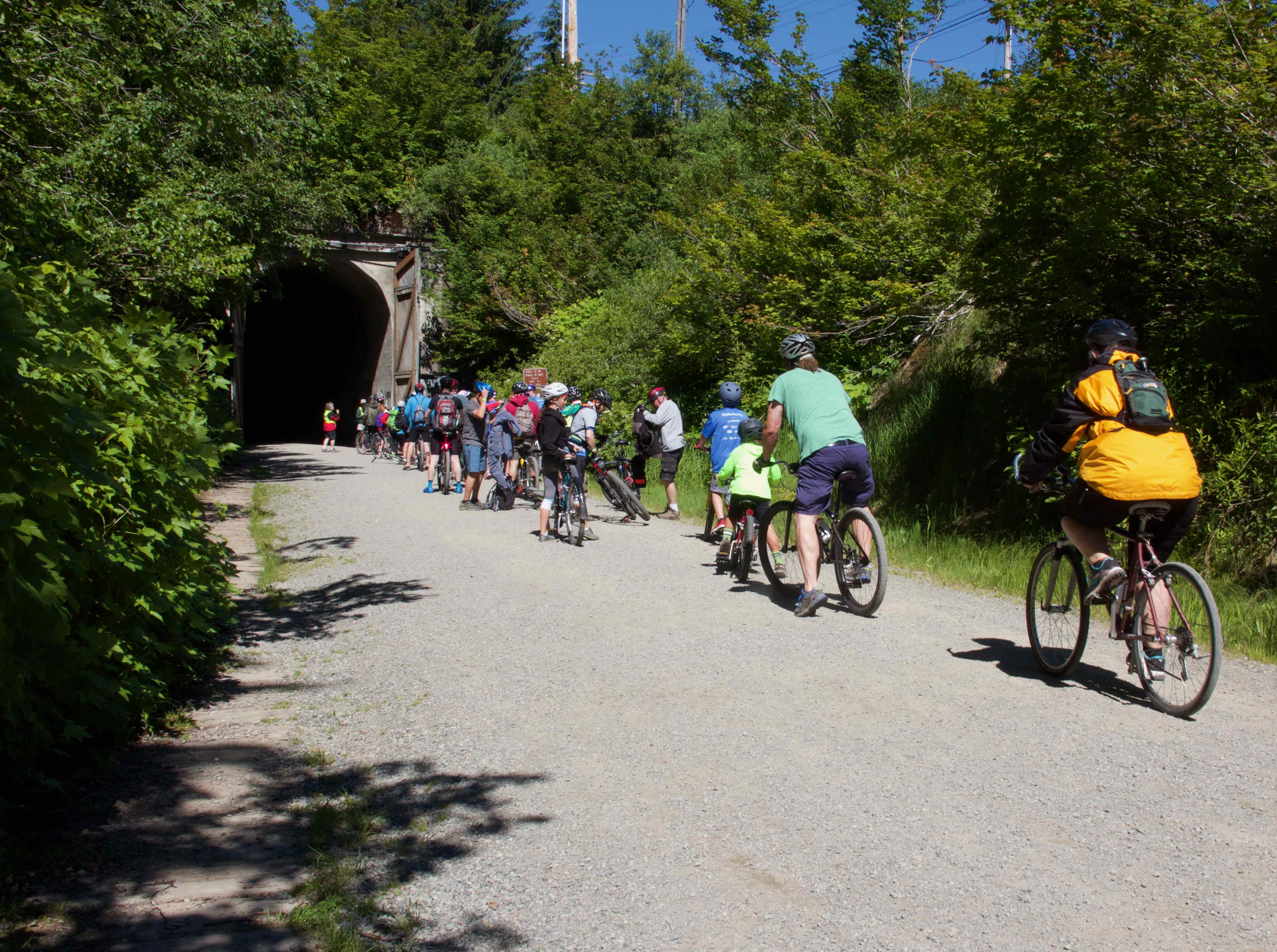 Snoqualmie Tunnel Bike Ride - Mountains To Sound Greenway Trust