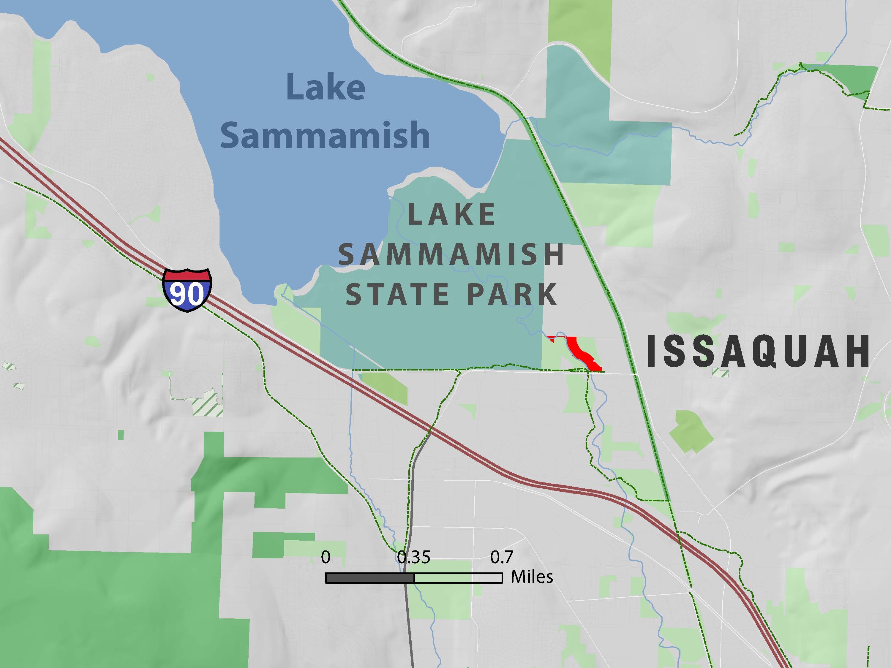 Picture of: Lake Sammamish State Park Adds 5 Acres Mountains To Sound Greenway Trust