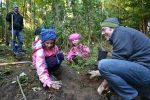 Join us for a tree planting celebration