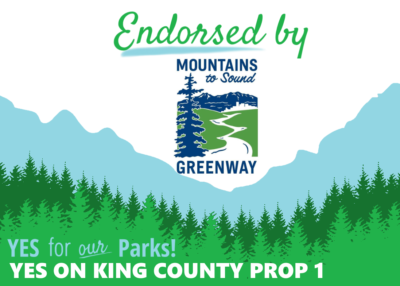 Vote Yes to Renew King County Parks Levy