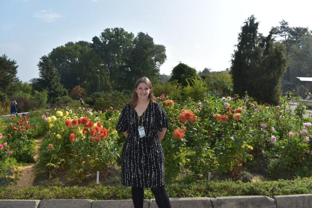 Becca at Vladivostok Botanical Garden