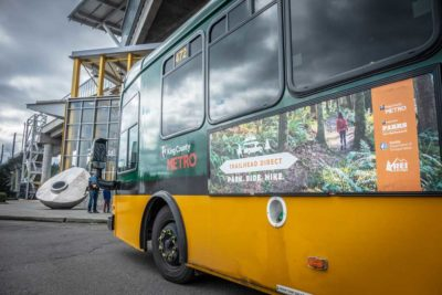 Trailhead Direct Ridership Increased 75% In Second Full Season