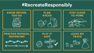 New Washington Outdoor Coalition Shares Six Important Tips for How to #RecreateResponsibly
