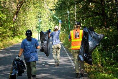 Pitch In To Keep Trash Off Our Trails