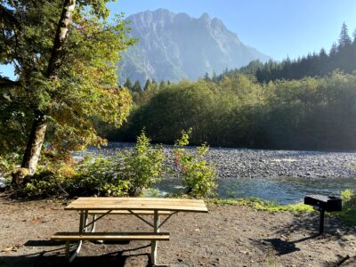 Camp Brown Day Use Area Opens in the Middle Fork Valley