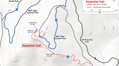 Constructing the Powerlink Trail on Tiger Mountain