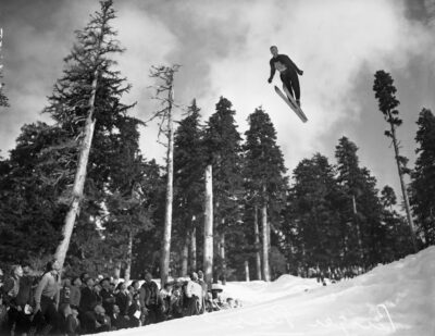 The History of Ski Jumping in the Mountains to Sound Greenway